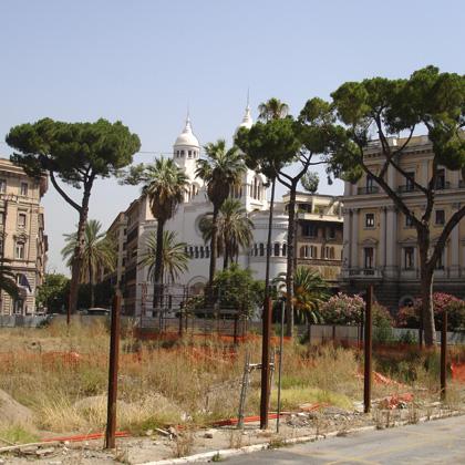 Der Römer baut sein mehr als 3.000 Jahren